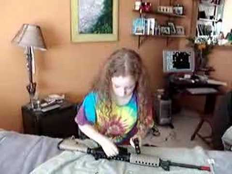 10 Year Old Girl  AR15