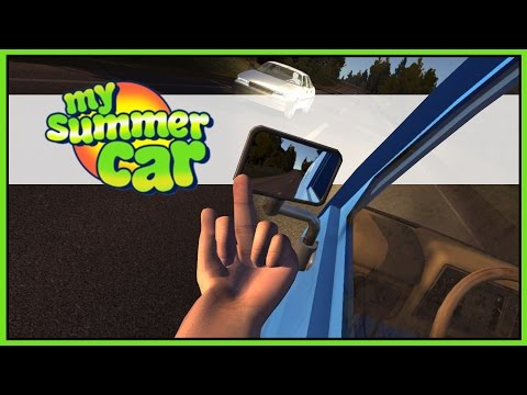 Trip Back Home - Wicked Plays My Summer Car - Part 2 [Let's Play My Summer Car Gameplay]