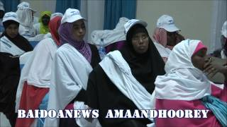 SOMALI JOURNALISTS STAND UP FOR PEACE