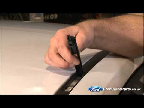 How to fit roof bars to your Ford car - YouTube