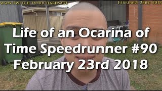 GETTING IN THE ZONE   Life of an Ocarina of Time Speedrunner #90
