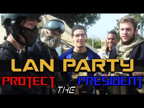 MAN Party: Protect the President Airsoft - NODE