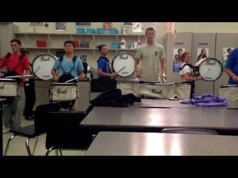 Oct 17, Garrard County High School 2013 Drumline (Opener)