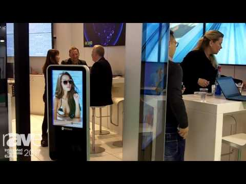 ISE 2017: AG Neovo Technologies Presents Signage Kiosk with Integrated Signage Player