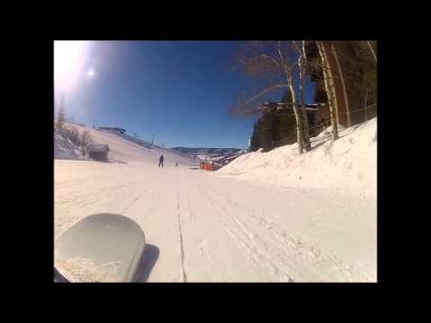 Snowboarding in Steamboat Springs | Stephens 1 Day Edit | SpK | Park and Trees