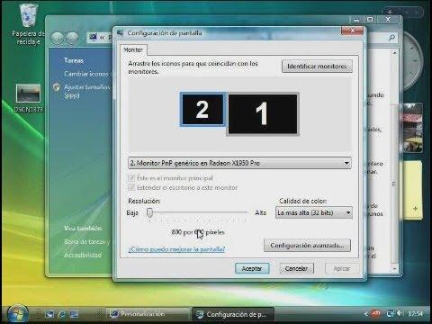 C ómo configurar el monitor