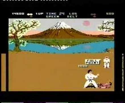 Atari 800 XL - International Karate