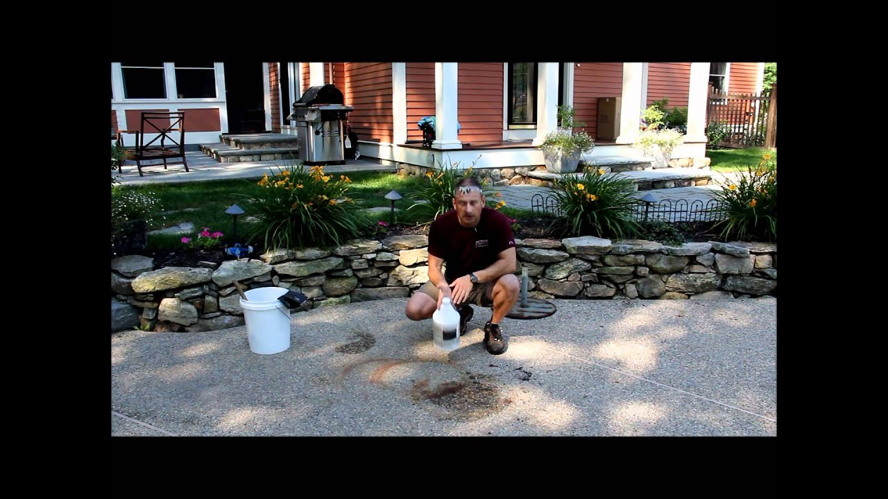 how to clean concrete with muriatic acid