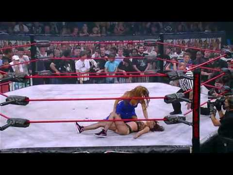 Jenna vs Sharmell - Victory Road 2009