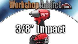 "Milwaukee Fuel 3/8"" Impact Wrench 2654-22"