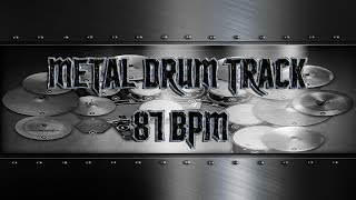 Tool Style Metal Drum Track 87 BPM (HQ,HD)