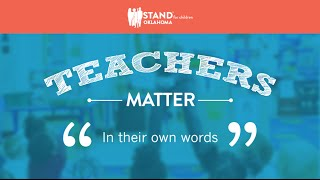 Teachers Matter: In Their Own Words
