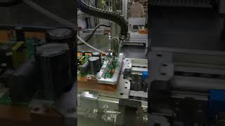 Auto assembly line auto soldering robot