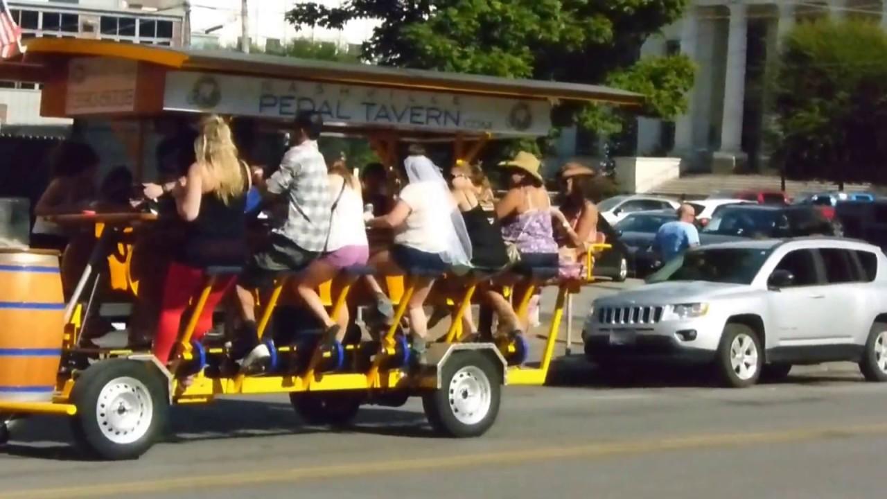 Bar Bike Nashville Nashville's Pedal Powered Bar