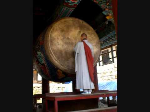 Drumming Monk