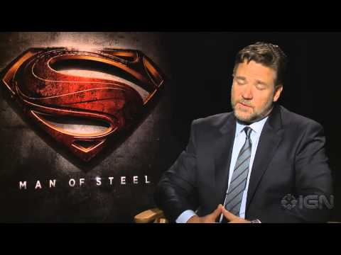 Man of Steel - Russell Crowe on Man of Steel
