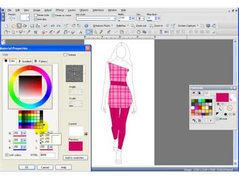 Adobe Photoshop Clothing Design Software Fashion Design Software