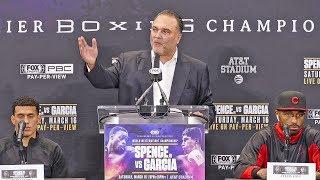 Errol Spence Jr. vs Mikey Garcia UNDERCARD PRESS CONFERENCE | FOX PBC
