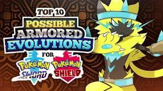 Top 10 Possible Armored Evolutions for Pokemon Sword and Shield