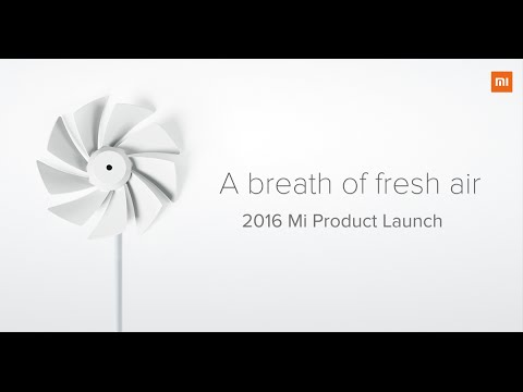 2016 Mi Air Purifier 2 + Mi Band 2 Product Launch Event Summary