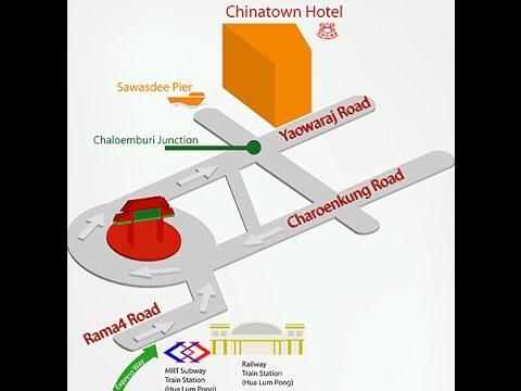 Chinatown Hotel Bangkok Thailand - Yaowaraj Road China Town Yaowarat