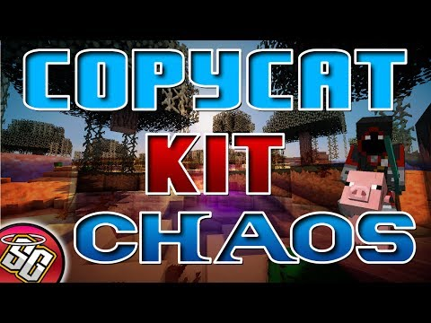 Copycat Kit Chaos Gameplay | Minecraft Hunger Games