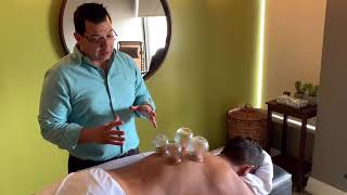 Check Out Dr. Freddie's First Cupping Session!
