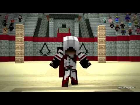 Minecraft Kombat  Вендет vs Assasin (Майнкрафт Анимация)
