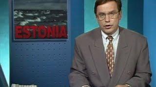 YLE pääuutislähetys 28.9.1994 (M/S Estonia)