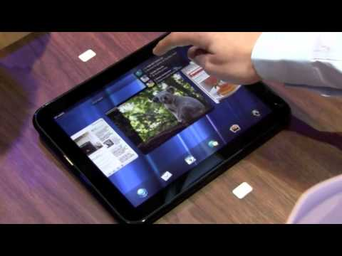 HP TouchPad Hands On