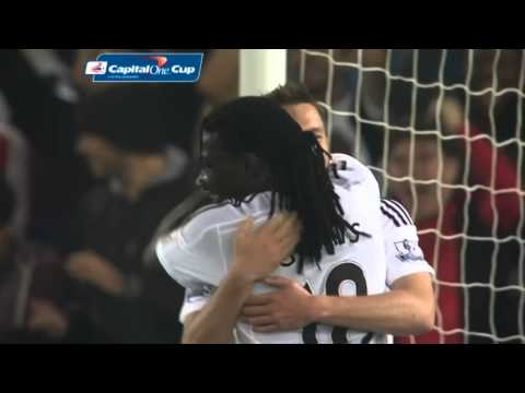Swansea City 3-0 Everton – Capital One Cup 2014/15