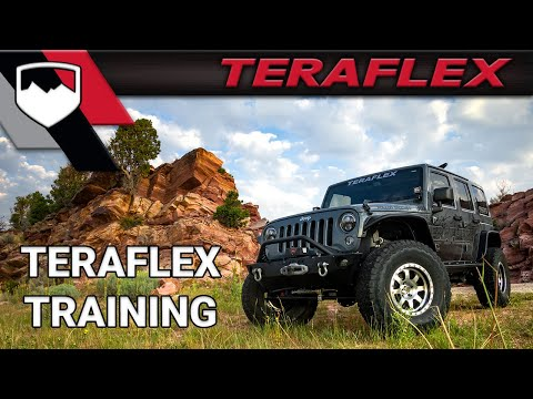 TeraFlex Training: TJ Lift Kit Jeep Alignment Part 1 of 3