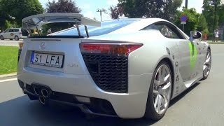Lexus LFA - LOUD Revs and Acceleration!