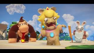 Mario + Rabbids: Kingdom Battle - Donkey Kong Adventure E3 2018 Trailer
