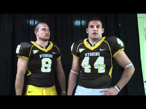 Wyoming Football Player Interview - New Look Uniforms