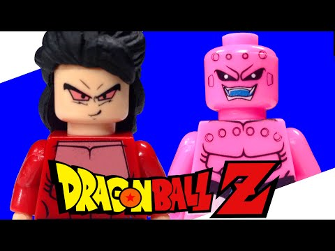 Custom LEGO Dragon Ball Z GT Figure Review