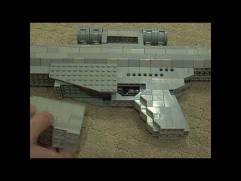 lego Barrett M107 50 Caliber Sniper Rifle