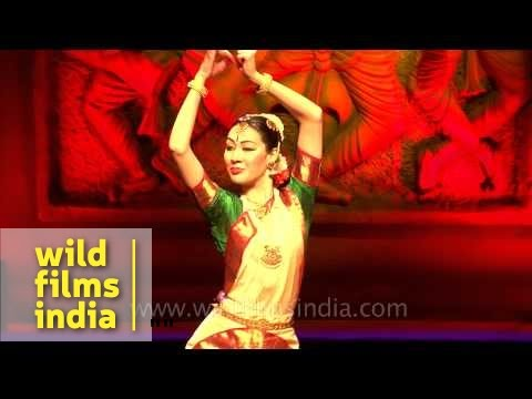 Romana Agnel performs Bharatnatyam dance at 4th Indo-European...