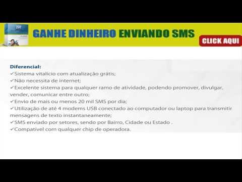 SMS MENSAGENS - GANHE DINHEIRO ENVIANDO SMS
