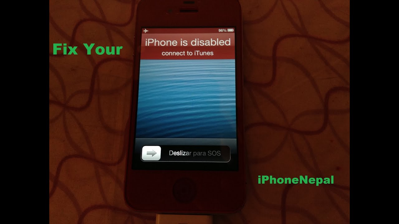 How To Fix Forgot Password On iPhone iPad  iPod Touch  iPad Mini