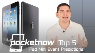 Apple's iPad Mini Event Predictions (Top 5)