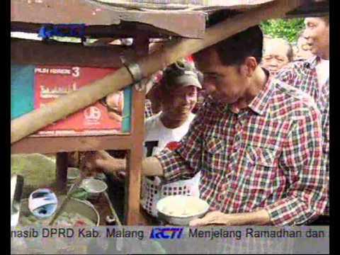 Aria Bima - Bersama Jokowi Makan Bakso