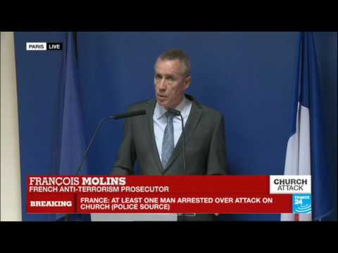 France church attack: French prosecutor updates press on hostage situation and investigation