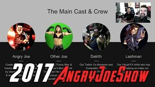 AngryJoeShow 2017 Changes Update!