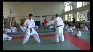 Karate in Russia, Sochi, the 10-17.06.2012 (kumite mawashi geri).mpg