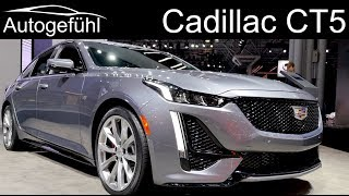 Cadillac CT5 REVIEW Exterior Interior Premiere - Autogefühl