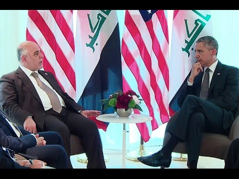 The President Meets with the Prime Minister of Iraq