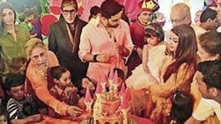 Aaradhya Bachchan Birthday Party 2016 - Aishwarya Rai And Abhishek Bachchan Host Grand Party