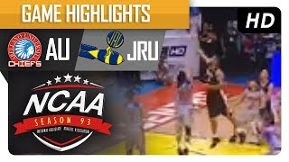 Arellano Chiefs vs. Heavy Bombers | NCAA 93 | MB Game Highlights | July 18, 2017