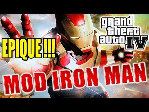 Iron Man dans GTA IV ! EPIQUE !!! - Découverte par Fanta [MOD]